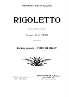 Complete Opera: Arrangement for voices and piano by Giuseppe Verdi