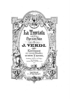 Complete Opera: Arrangement for piano by Giuseppe Verdi