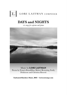 Days and Nights: Days and Nights by Lori Laitman