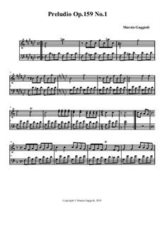 Preludio No.1, Op.159: Preludio No.1 by Marzia Gaggioli