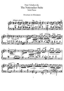 Complete Ballet: Piano score by Pyotr Tchaikovsky