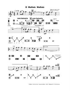O' Malhao Malhao - partitura e numerica 2019: O' Malhao Malhao - partitura e numerica 2019 by Unknown (works before 1850)