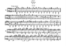 Complete set: For piano four hands by Johannes Brahms