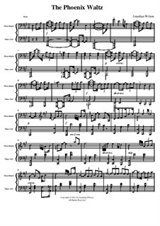 The Phoenix Waltz: Piano part by Jonathan Wilson