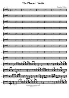 The Phoenix Waltz: Cello part by Jonathan Wilson
