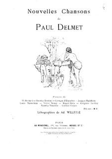 Nouvelles chansons: Nouvelles chansons by Paul Julien Delmet
