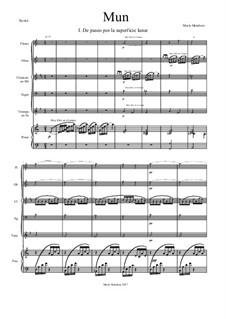 Mun (Score + Parts): Mun (Score + Parts) by María Mendoza