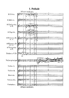 Violin Concerto No.1 in G Minor, Op.26: Full score by Max Bruch
