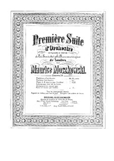 Suite for Orchestra No.1, Op.39: Version for piano four hands by Moritz Moszkowski