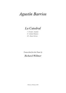 La catedral: Complete set by Agustín Pío Barrios Mangoré