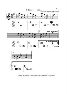 Aprender Concertina - Vira -  partitura e Nova Numerica: Aprender Concertina - Vira -  partitura e Nova Numerica by folklore