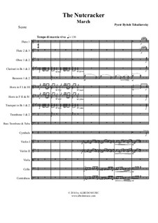 No.2 March: For full orchestra by Pyotr Tchaikovsky