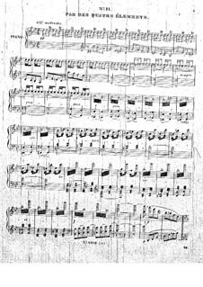 Théolinda l'orpheline : No.11-14 by Cesare Pugni