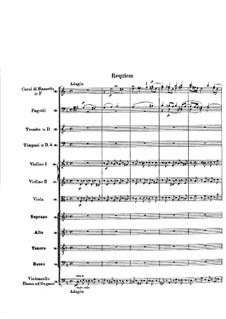 No.1-3: Full score by Wolfgang Amadeus Mozart