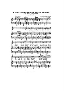 Sei mir gegrüsst (I Greet You), D.741 Op.20 No.1: Piano-vocal score by Franz Schubert