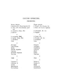 Complete set: Movement I by Nikolai Rimsky-Korsakov