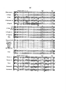Complete set: Movement IV by Nikolai Rimsky-Korsakov