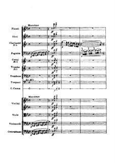 La Cenerentola (Cinderella): Overture – full score by Gioacchino Rossini