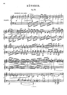 Six Pieces, Op.51: No.3 Reverie by Anton Rubinstein