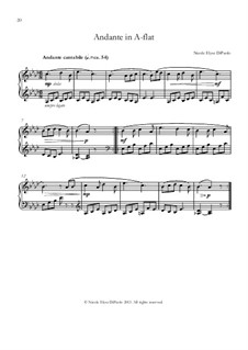 Venturing Beyond: Andante in A flat major by Nicole DiPaolo