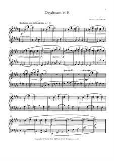 Venturing Beyond: Daydream in E major by Nicole DiPaolo