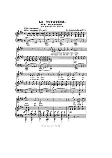 The Wanderer, D.493 Op.4 No.1: E Major by Franz Schubert