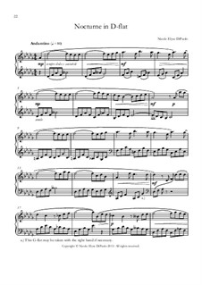 Venturing Beyond: Nocturne in D flat major by Nicole DiPaolo