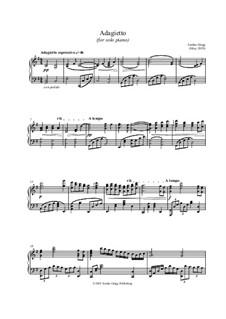Adagietto (for solo piano): Adagietto (for solo piano) by Jordan Grigg