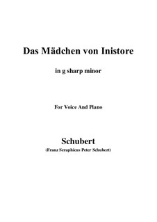 Das Mädchen von Inistore (The Maid of Inistore), D.281: G sharp minor by Franz Schubert