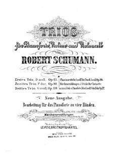 Märchenerzählungen (Fairy Tales), Op.132: For piano four hands by Robert Schumann
