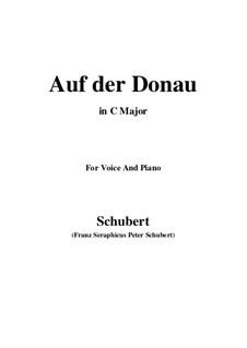 Auf der Donau (On the Danube), D.553 Op.21 No.1: C Major by Franz Schubert