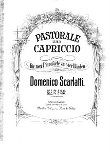 Capriccio in E Major, K.20: Capriccio in E Major by Domenico Scarlatti