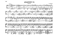 String Quartet No.14 in D Minor 'Death and the Maiden', D.810: Arrangement for piano four hands by Franz Schubert