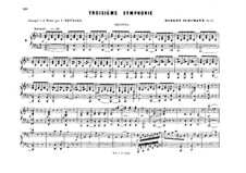 Symphonies (Collection): No.3-4, for piano four hands by Robert Schumann