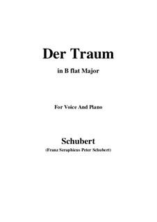 Der Traum (The Dream), D.213 Op.172 No.1: B flat Major by Franz Schubert