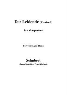 Der Leidende (The Sufferer), D.432: First version (c sharp minor) by Franz Schubert