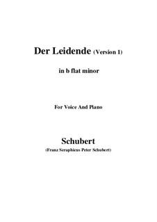 Der Leidende (The Sufferer), D.432: First version (b flat minor) by Franz Schubert