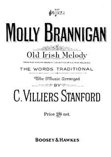 Molly Brannigan: For voice and piano by folklore