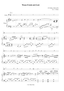 When Peace Like a River: For cello and piano by Philip Paul Bliss