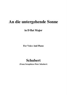 Im Haine (In the Wood), D.738 Op.56 No.3: For voice and piano (G Major) by Franz Schubert