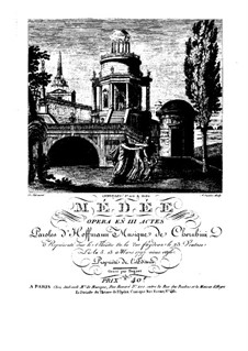 Medea: Full score by Luigi Cherubini
