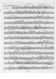 Six Sextets for Flute, Oboe and Strings: Sextets No.3-4 by Paul Wranitzky