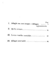 String Quartet No.14 in A Flat Major, B.193 Op.105: Full score by Antonín Dvořák