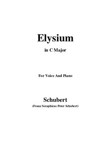 Elysium, D.584: C Major by Franz Schubert