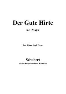 Der gute Hirt (Good Shepherd), D.449: C Major by Franz Schubert