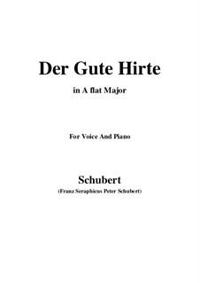 Der gute Hirt (Good Shepherd), D.449: A flat Major by Franz Schubert