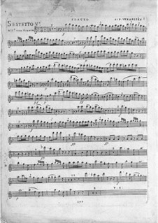 Six Sextets for Flute, Oboe and Strings: Sextets No.5-6 by Paul Wranitzky