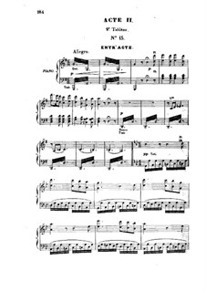 Barbe-bleue (Bluebeard): Act II, scene II, for voices and piano by Jacques Offenbach