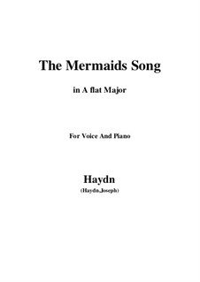 The Mermaids Song: A flat Major by Joseph Haydn
