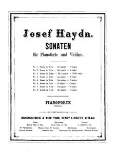 Complete set: Full score by Joseph Haydn